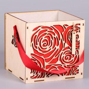 Подарочная упаковка Роза