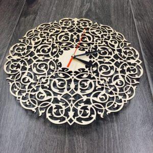 Часы резные Ажур