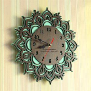 Часы узор